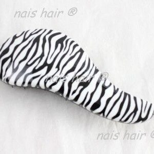 cepillo para extensiones peine zebra