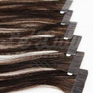 Extensiones Adhesivas Baratas Negro Natural