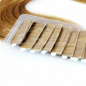 Extensiones Adhesivas baratas Castaño Claro