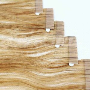 Extensiones Adhesivas baratas rubio medio