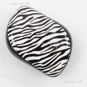 cepillo peine para extensiones de pelo antitirones zebra