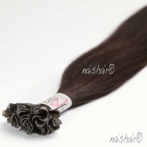Extensiones de Queratina Color #1B (Negro Natural)