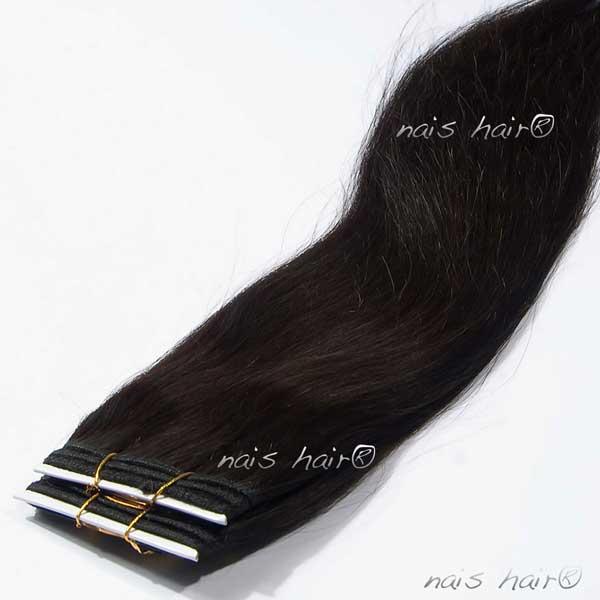 Cortina Cosida 50CM Color #1B (Negro Natural)