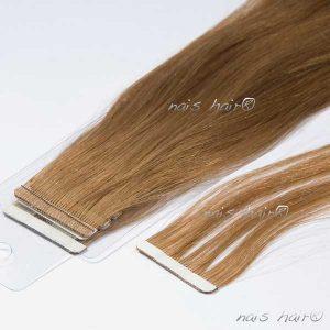 extensiones de pelo adhesivas color rubio medio