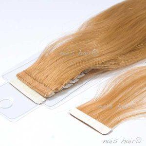 extensiones de pelo adhesivas color rubio dorado