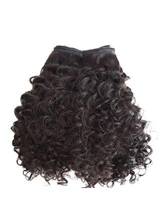 extensiones de pelo natural virgen brasileño rizado